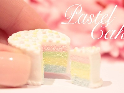 How to make a mini Pastel Cake