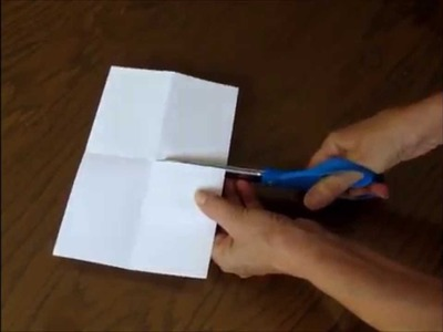 How to Make a Quick and Easy 8 Page Mini-Book From One Piece of Paper