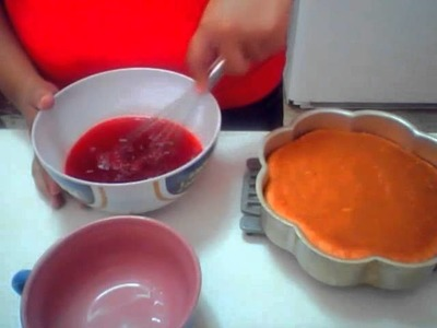 How to make an easy jello cake