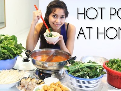 How to Make Hot Pot. Shabu Shabu Soup Recipe