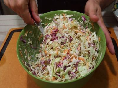 How to make NY Deli Coleslaw (228)