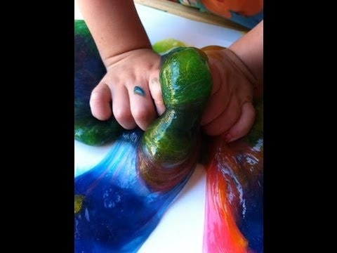 How to make SLIME! Fun and Easy!