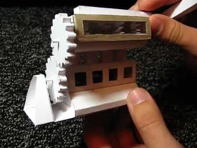 In-Line 4-cylinder engine working paper model