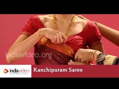 Kanchipuram Saree In Coorg Style - Tutorial | India Video