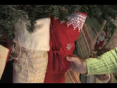 Make your own Christmas stockings.