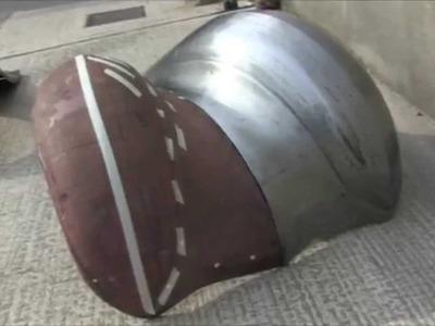 MAKING WINGS (FENDERS) BY HAND (metalshaping)