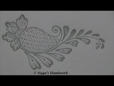 Mehndi Design for Beginners-Basic Shapes By Nagu's Handwork