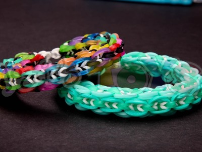 MINI GLOBAL Links - ADVANCED Rainbow Loom Bracelet Tutorial