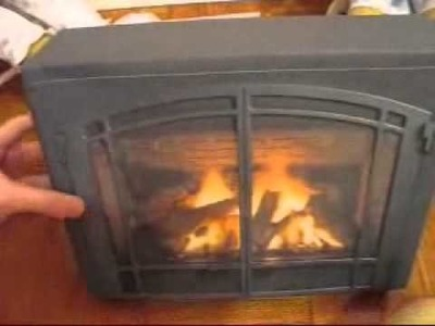 My American Girl Doll Fireplace!