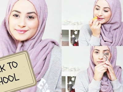 Natural Make up Tutorial ♡ Back To School! | Hijab Hills