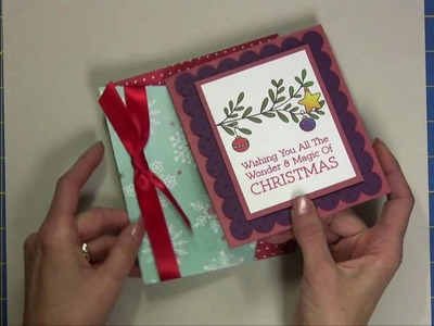 Quick and Easy Christmas Cards with the Cricut