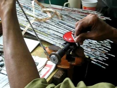 Recycled newspaper coils
