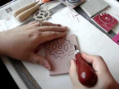 Rubber Stamp Carving for Beginners