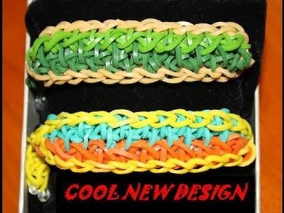 TRY THIS RAINBOW LOOM DESIGN - SAILORS KNOT