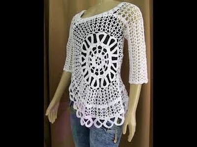 Very Easy Crochet Blusa