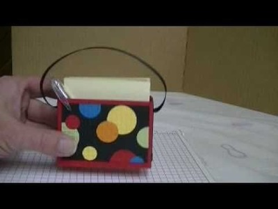 3 x 3 CARD BOX HOLDER AND MORE!