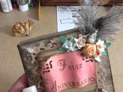 Anniversary mini box to my parents - update
