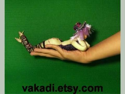 Art Doll OOAK Exclusive Design from VaKaDi for your Collection Adult only Dolls