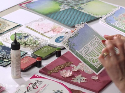 Coloring and Flower Shaping With Vellum