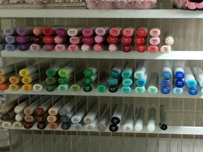 Copic Marker Storage and Markerpop haul