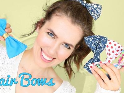 D.I.Y. Hair Bows!