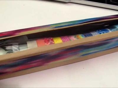 D.I.Y. Washi Tape Storage