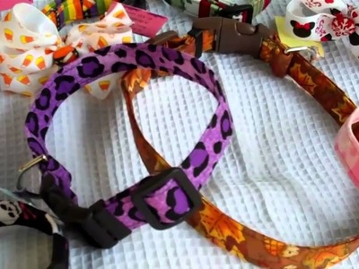 Dog Collar Handmade Custom by sugarandspicekidz