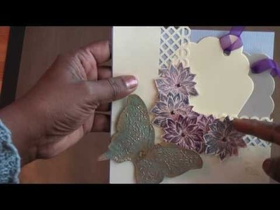 Donna's Trellis Card Pocket Tutorial.