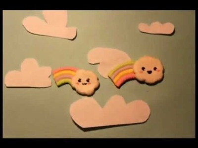 ◕‿◕ Kawaii Friday 2- Rainbow in Polymer Clay, tutorial