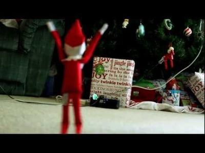 Elf On A Shelf Caught On Tape!