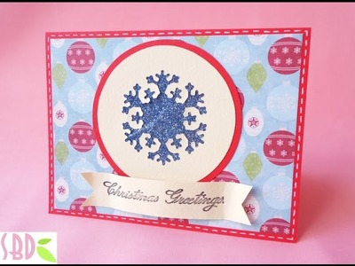 Glitter Christmas Card - ENG Series