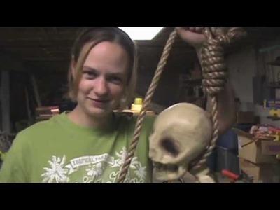 Halloween Props: Tie a REAL Hangman's Noose