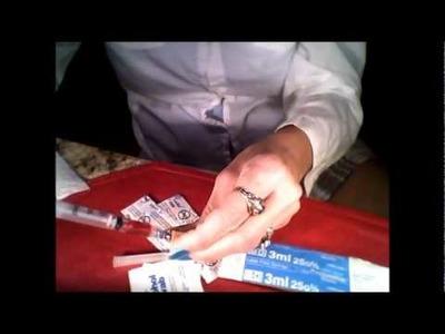 *How do I inject B12?*