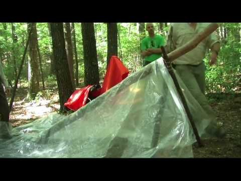 How To Build An A-Frame Shelter