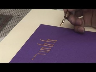 How To Learn A Calligraphic Script
