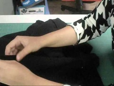 How to make a cape out of a hoodie.wmv