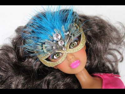 How to Make a Doll Mask - Doll Crafts