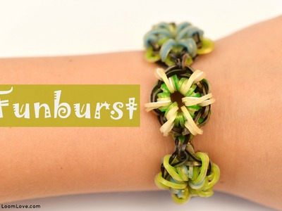 How to Make a Funburst Rainbow Loom Bracelet