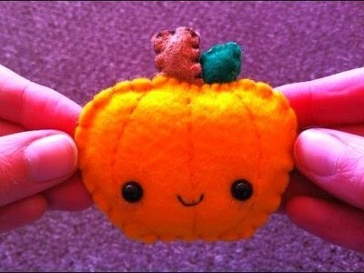 How to Make a Kawaii Pumpkin Plushie