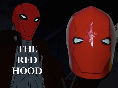 How to make a RED HOOD Helmet