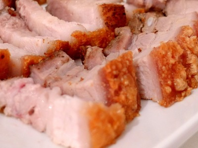 How to make CRISPY ROAST PORK - Thịt heo quay