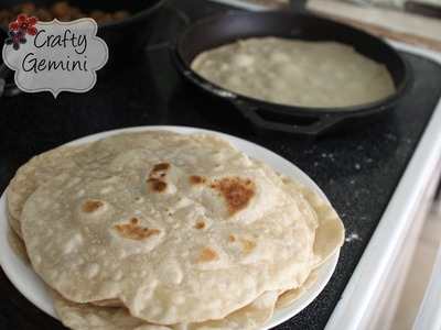 How To Make Flour Tortillas- Easy Recipe