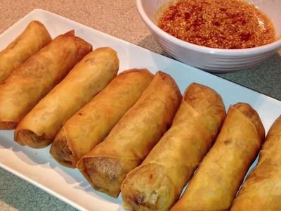 How to make Hmong Eggrolls
