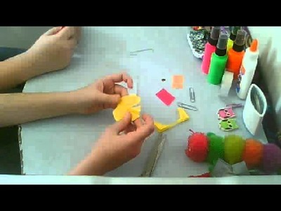 How to make mini umbrella's