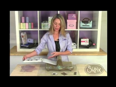 How To Use Sizzix Vintaj DecoEtch and DecoEmboss Dies
