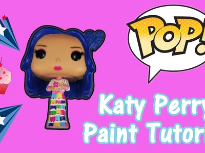 Katy Perry FUNKO POP AHS Cordelia Foxx Custom Paint Tutorial