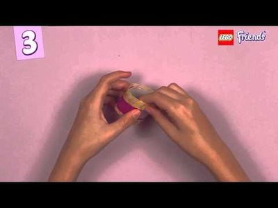 LEGO® Friends How To: Make napkin rings