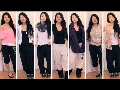 Lookbook | Styling Outfits with Sweatpants - Fashion