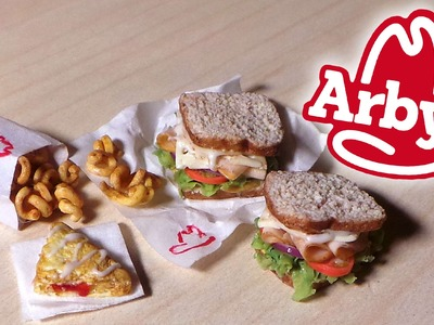 Lunch at Arby's - Arby's Inspired Miniatures - Polymer Clay Tutorial