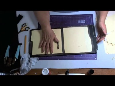 Making a File Folder Book Part 3